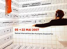 GMEM : festival les musiques 2007